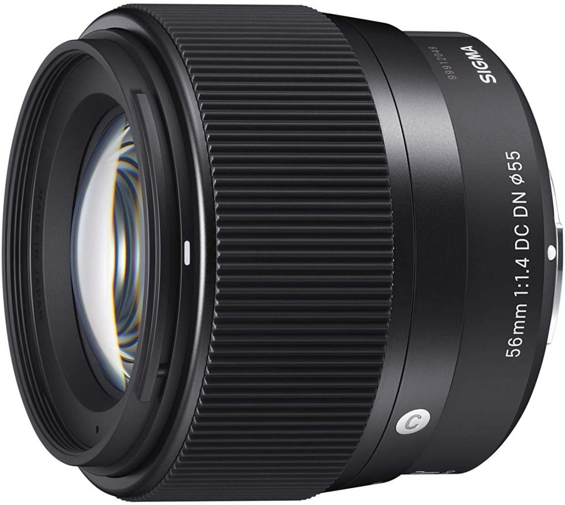 Sigma 56mm F1.4 best portrait lens for Sony APS-C Camera