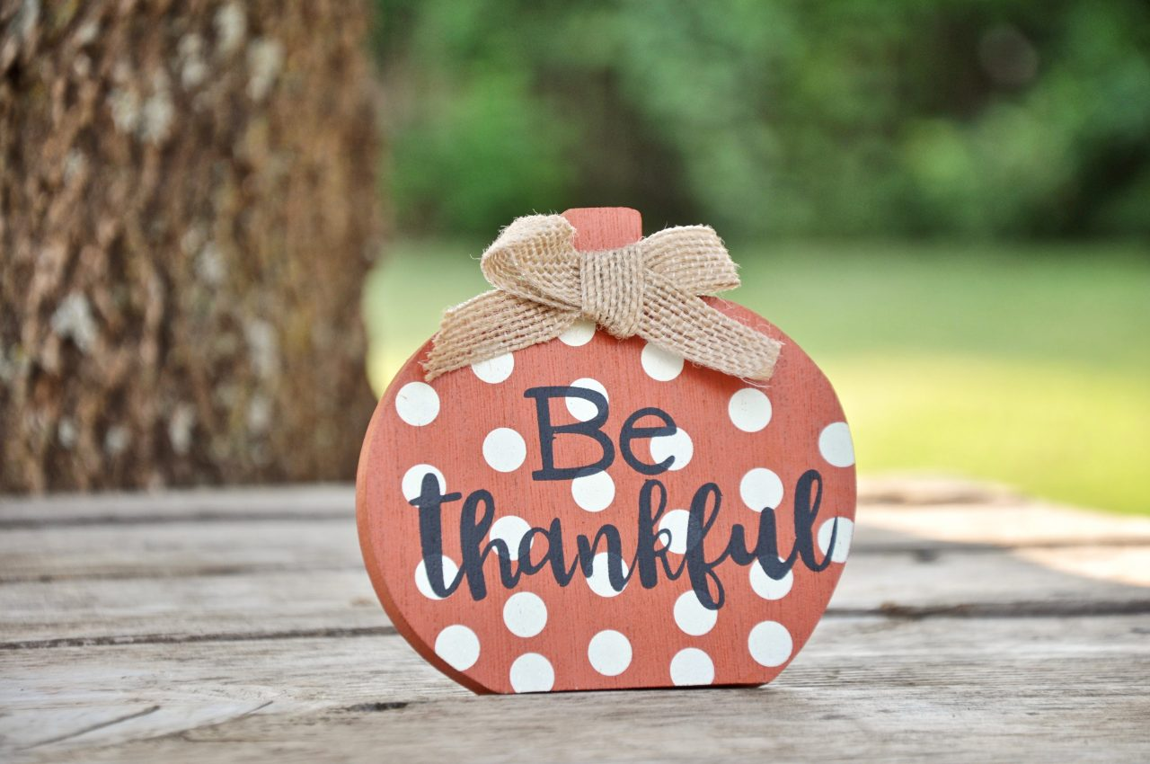 lessons of my life - Be thankful